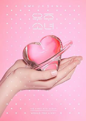 WJSN Cosmic Girls 1st Mini Album [WOULD YOU LIKE?] CD+Booklet+Photocard Sealed