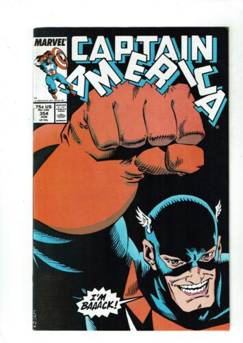 Captain America #354, VF 8.0, 1st Appearance US Agent