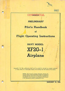 XF2G-1 Preliminary Pilot's Handbook  Flight Operating Instructions Flight Manual