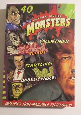 Universal Studios  Monsters Valentines  Unopened MIB