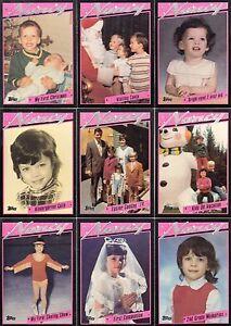 NANCY KERRIGAN 1994 TOPPS COMPLETE BASE CARD SET OF 88 SP