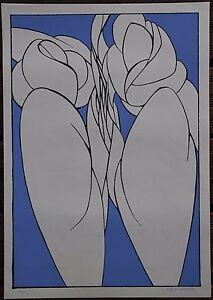 Sérigraphie Wolff BUCHHOLZ serigraph signée numérotée 1967 farblitografie . - France - Type: Lithographie Caractéristiques: Signée Thme: Personnage Authenticité: Original Période: XXme et contemporain - France