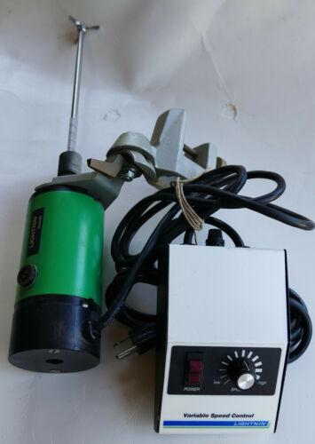 "Lightnin Labmaster Electric Mixer Lab 115v 0-2300 rpm 12"" Shaft with Propellar!!"