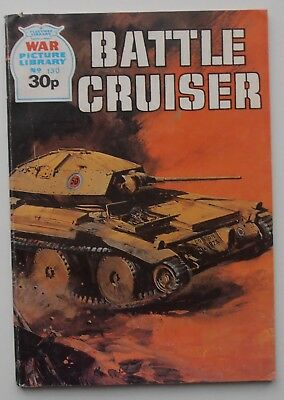 WAR PICTURE LIBRARY BATTLE CRUISER  ISSUE 130 1987