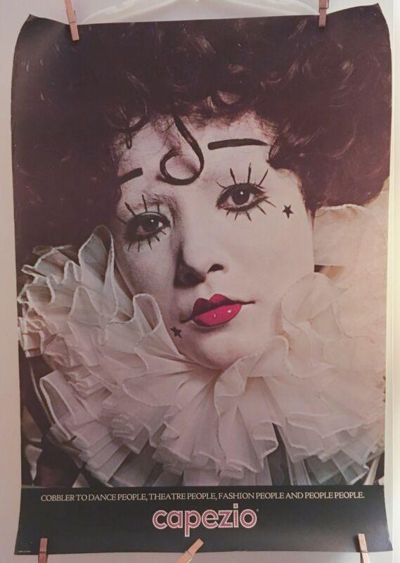 Vintage CAPEZIO Cobbler Advertising Poster