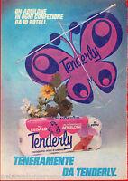 Pubblicità Advertising 1984 Tenderly Teneramente -  - ebay.it