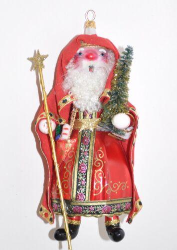 "1996 ""Ramanov Santa"" Christopher Radko Christmas Ornament 96-165-0 Italian Rare"