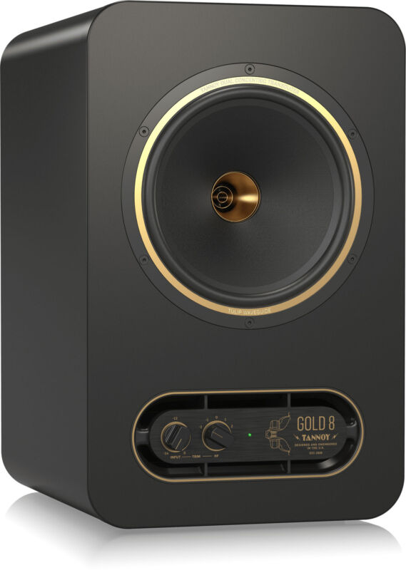 Tannoy GOLD8 Premium 300-Watt Studio Monitor with Concentric Source Technology
