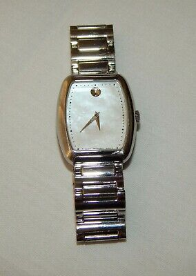 Movado Swiss Made 27mm Mother Of Pearl Stainless Steel Ladies Watch 23.3.14.1164