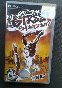 Psp game  nba street showdown  complete with instructions