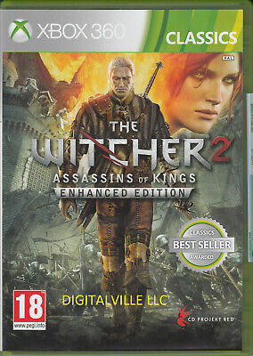 The Witcher 2 Assasins of Kings Enhanced Edition XBOX ONE ONLY Brand New Sealed
