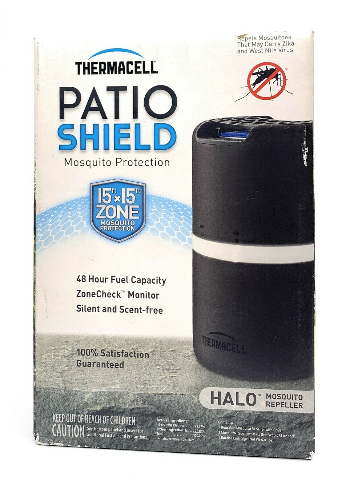 Thermacell Halo Patio Shield Backyard Mosquito Repeller - Br
