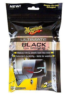 MEGUIAR'S MEGUIARS Ultimate Black Trim Sponges Plastik Kunstoff Pflege 2 Stk