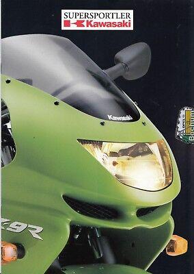 Automobilia 193653 Kawasaki Zxr 400 Prospekt 199? Anleitungen & Handbücher