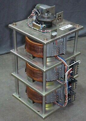 Motorised Variable Transformer 3 Phase Rigaku Ru-h2r H3r X-ray Staco 94y04-3-45a