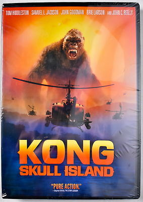 Kong  Skull Island 2017 Dvd  New