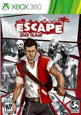 Xbox 360 Escape Dead Island Video Game ZOMBIE survival stealth exploration melee