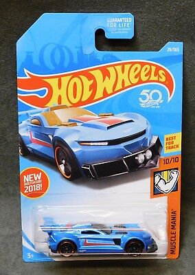 2018 Hot Wheels Car 29/365 Track Ripper - B or C Case