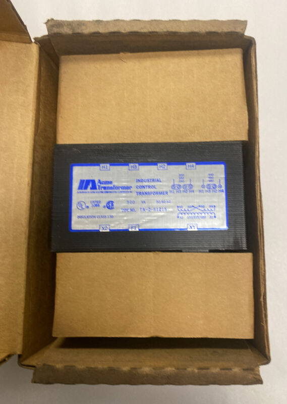 Acme TA-2-81215 Industrial Control Transformer 500VA NOS