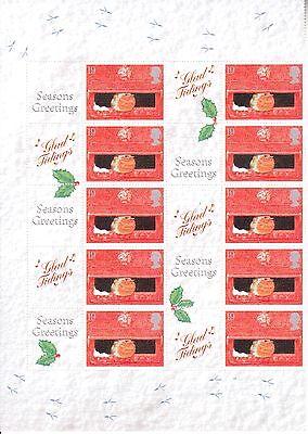 2000  - Christmas Smilers Half Sheet - LS-001 2000 Half Sheet