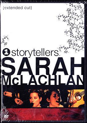 Vh1 Storytellers Sarah Mclachlan New Sealed Dvd