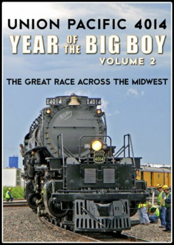 UP 4014 YEAR OF THE BIG BOY VOL 2 DVD VIDEO NEW STEAM TRAIN VIDEOS