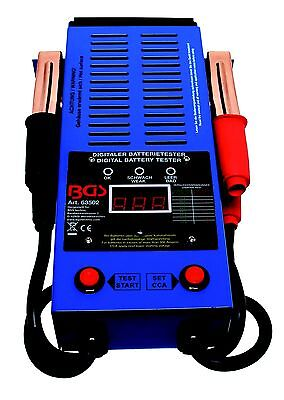 BGS 63502 Auto Batterie Tester, digitaler Batterietester 12 Volt Autobatterien