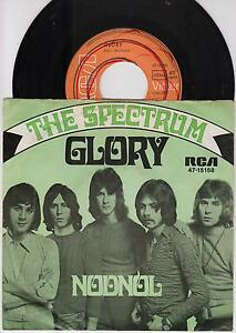THE-SPECTRUM-Glory-Nodnol-Original-1969-German-2-track-7-vinyl-single-in-p-s
