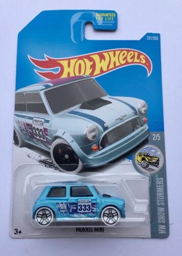 Hot Wheels Morris Mini Rally One ALL4 WRC Marque BMW Austin Cooper S Turbo Oem B