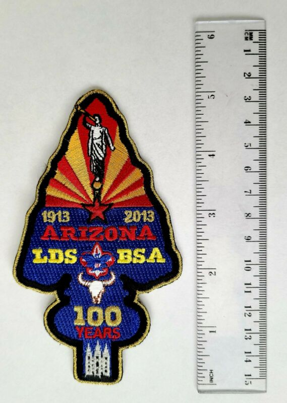 Boy Scout Patch LDS 100 Year Anniversary Arizona Commemorative Special Edition