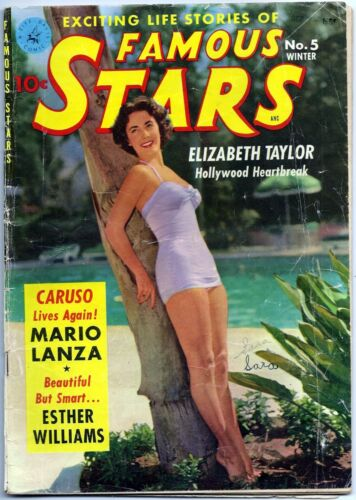 Famous Stars #5 1951 (VG+  4.5) Ziff-Davis  Krigstein & Gil Kane Art