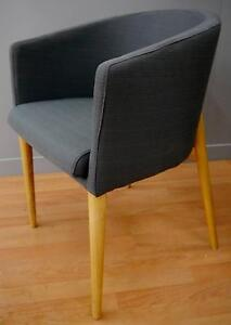 New Scandi Danish Grey Timber Kendall Lounge Dining Chairs Melbourne CBD Melbourne City Preview