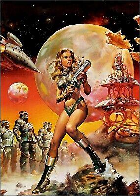 Barbarella Movie Poster 13 x 19 Reprint
