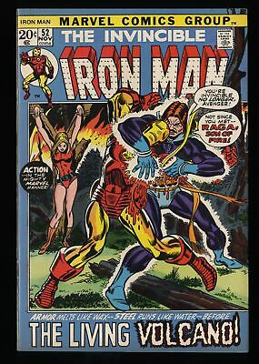 Iron Man #52 VF+ 8.5 Marvel Comics