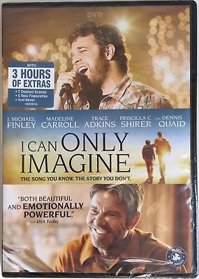 I CAN ONLY IMAGINE DVD 2018 Brand New & Sealed 3 Hours of Extras USA FREE SHIP