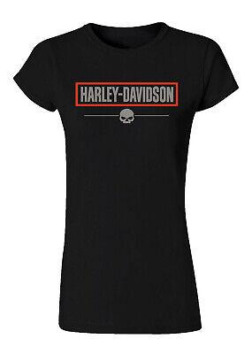 Women's Harley Davidson logo T-Shirt ,short sleeve