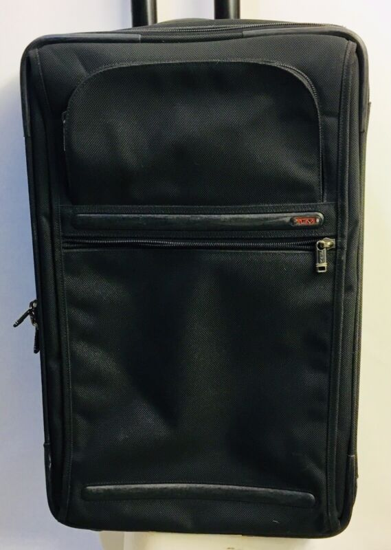 """TUMI Alpha 22022D4 Frequent Traveler 22"""" Carry-On Rolling Suitcase"""