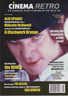 CINEMA RETRO ISSUE #21 A CLOCKWORK ORANGE HALLOWEEN LAST TANGO IN PARIS ](A Clockwork Orange Halloween)