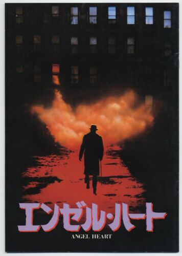 Angel Heart JAPAN PROGRAM Alan Parker, Mickey Rourke, Robert De Niro, Lisa Bonet