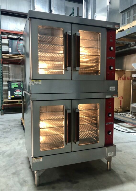 Vulcan Double Stack Electric Convection Oven VC4ED