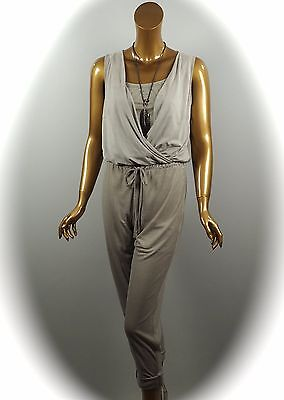 AIRFIELD  JUMPSUIT OVERALL EINTEILER TAUPE  Gr.   42   (369€) (Jumpsuit Taupe)