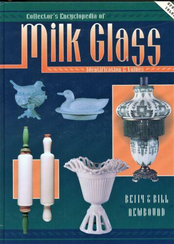 Milk Glass Patterns - Westmoreland Imperial Fenton Etc. / Scarce Book + Values