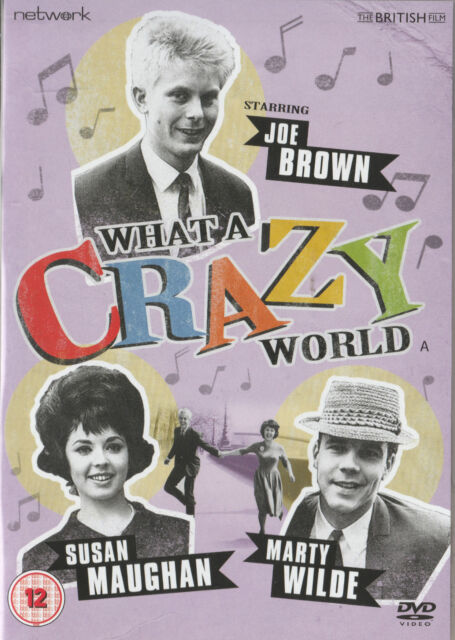 Marty Wilde: WHAT A CRAZY WORLD New but UNSEALED Region 2