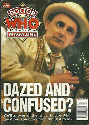 RARE Back Exit - DOCTOR WHO MAGAZINE #266 - July 1998 - Sylvester McCoy