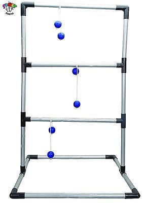 Spin Top Spielzeug (Top Qualität: Metall Leitergolf Bola Spin Ladder Kiga Kita Hort mit 6 Bolas)