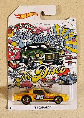 Hot Wheels '81 Camaro All Hustle No Disco