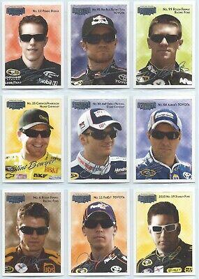 Eclipse Racing (2010 Press Pass Eclipse NASCAR Racing Base Card You Pick, Finish Your)