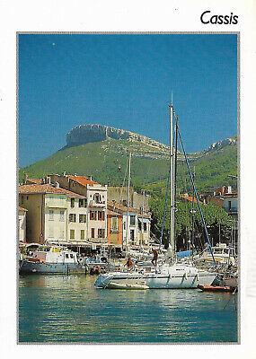 France - Cassis  -  The harbor with the cliff of Cap Canaille  -  1990 comprar usado  Enviando para Brazil