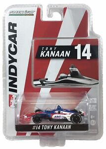1:64 2018 Greenlight Tony Kanaan #14 AJ Foyt Racing IndyCar Diecast