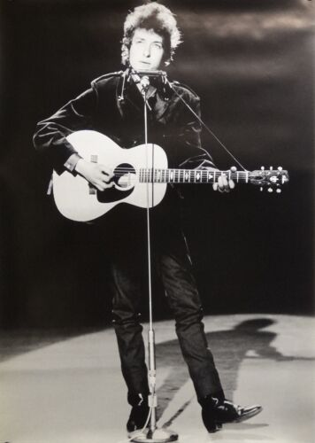 Bob Dylan 24x34 On Stage Music Poster